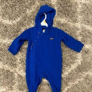 Patagonia children's fleece onsie